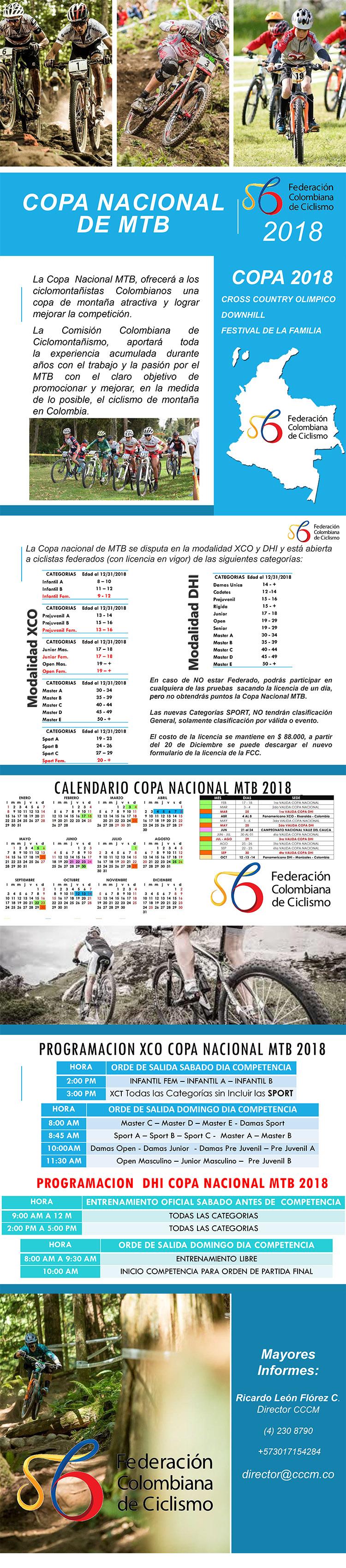 Presentación Copa Colombia 2018 XCO - DHI