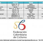 Calendario Nacional MTB 2017