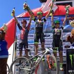 4 colombianos en el podio de la Popobike 2016