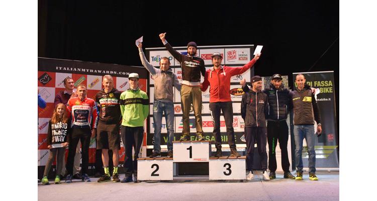 Leonardo Páez 2° en la Val di Fassa Bike.