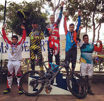 Rafael Gutiérrez ganó en la 'Copa Nacional Giant Shimano MTB' de DH