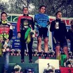 Valentina y Xiomara en el XC Laigueglia