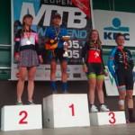 Valentina Abril gana la Benelux MTB Cup
