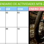 Calendario Nacional de MTB 2021