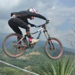 Vibrante jornada del Downhill en el Nacional de MTB