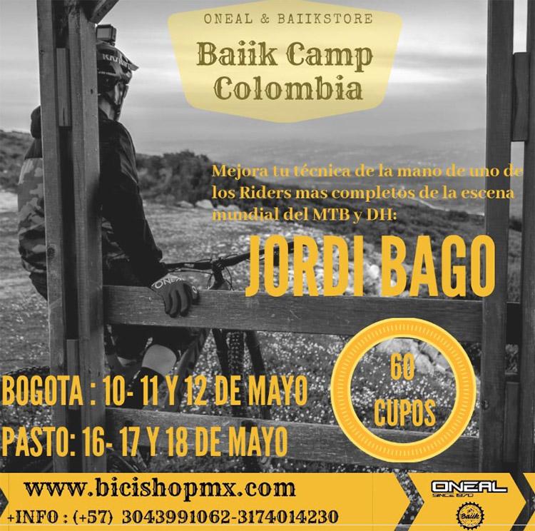 Baiik Camp Colombia con Jordi Bago