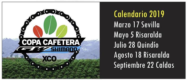 Calendario Copa Cafetera 2019