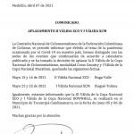 Aplazadas 2 válida nacional XC y 1a de Maratón para mayo
