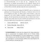 Comunicado CCCM - Avales para Panamericano y Campeonato Mundial