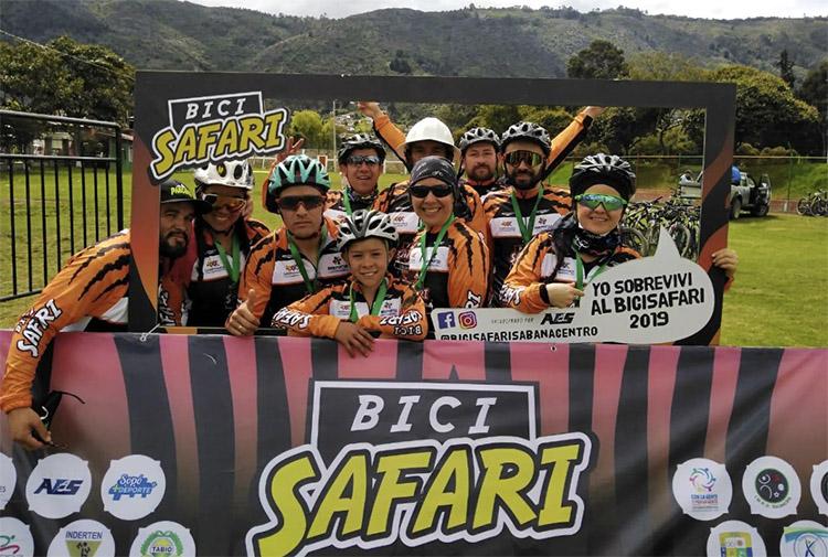 Gran éxito en el II BiciSafari