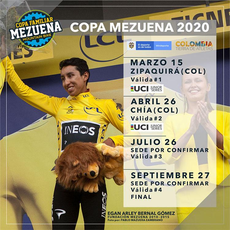 En marzo inicia la Copa Mezuena 2020