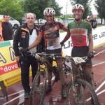 Diego  Arias 1° en Longobardi Bike Marathon