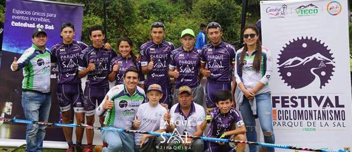 En Zipaquirá nace equipo de MTB Parque de la Sal - Cube