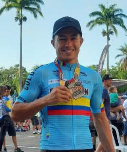 Fabio Castañeda 2º en el CIMTB de Brasil