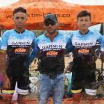 Presentación del Team Garmin - Multitech - KTM de Bogotá
