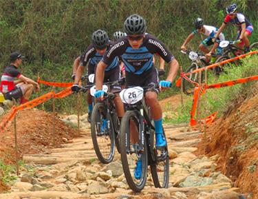 Con triple podio inició el GW Shimano el Open MTB Antioquia.