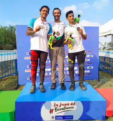 Risaralda y Caldas definieron las medallas del DH de los Juegos Nacionales