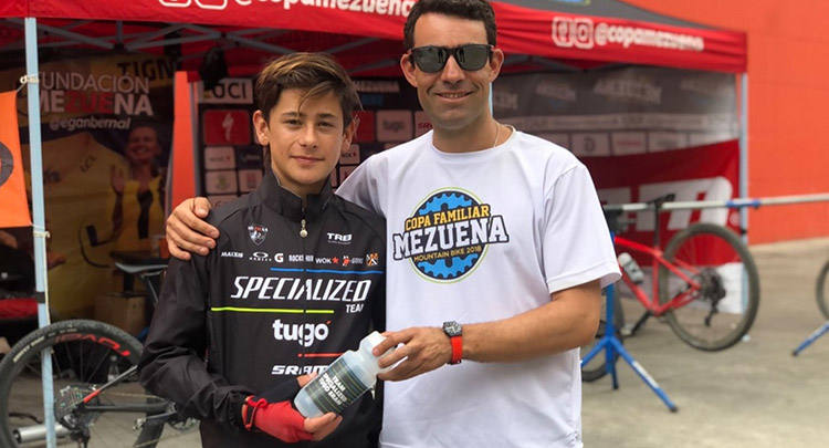Antonio Gómez Ortíz, nuevo integrante del equipo juvenil de la Fundación Mezuena