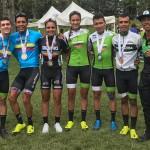 GW Shimano con medallas para Antioquia, Valle y Cundinamarca en el Nacional de MTB.