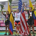 Egan Bernal campeón Panamericano júnior - USA, oro en femenino