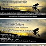 Programación Campeonato Nacional de Ciclomontañismo 2018