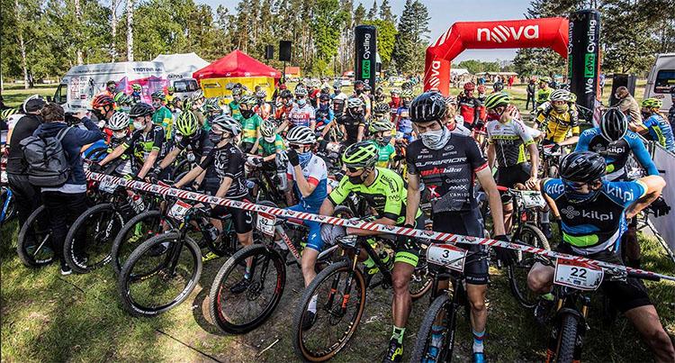 Primera pre carrera de Mtb en República Checa en la reapertura de la actividad deportiva en Europa