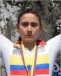 Valentina Abril Oro en Juegos Bolivarianos