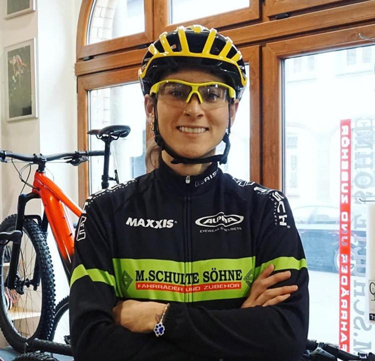 Valentina Abril en el  Team Merida-Schulte